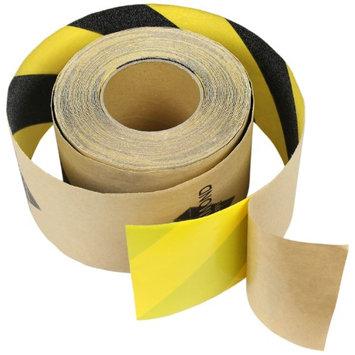 Black Diamond 5'x60' Black/Yellow SAFETY GRIPTAPE NonSkid Grit FOR STAIRS & MORE Anti Slip Grip