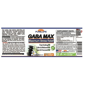 Gabamax 'Gabatrol Powder' 120 Grams
