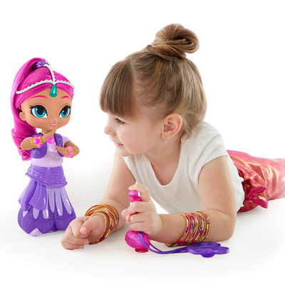 Nickelodeon Shimmer and Shine Wish & Spin Twins - Shimmer