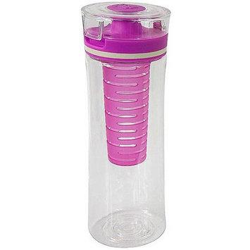 Cool Gear 28-Ounce Infuser Bottle, Purple