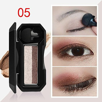 Eyeshadow Palette, CYCTECH Shimmer Eye Shadow Powder Waterproof Makeup Palette Flexibility Lasting Two-color