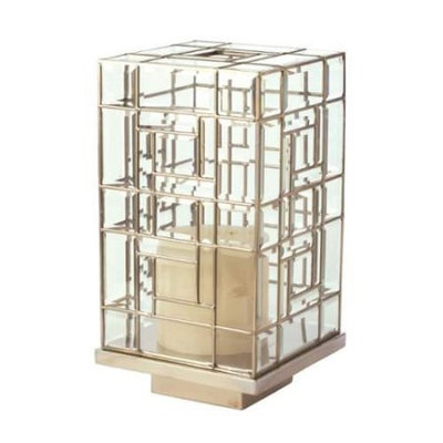 LAZY SUSAN - 444002 - 20 Large Glass Hurricane