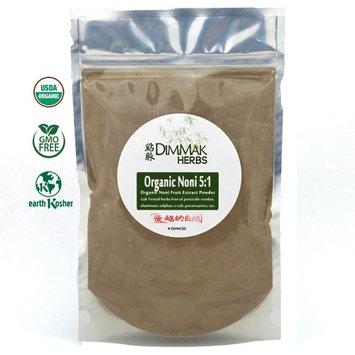 Organic Noni Fruit 5:1 Extract Powder (4oz/112g) | Morinda Citrifolia Whole Noni Fruit Nutraceutical Grade Powder Bulk