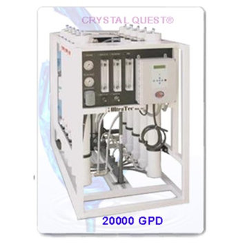 Crystal Quest CQE-CO-02033 Commercial Reverse Osmosis 20,000 GPD Water Filter System