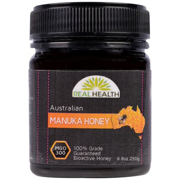 Real Health, Australian Manuka Honey, MGO 300, 8.8 oz (250 g) [Potency : 300 MGO]