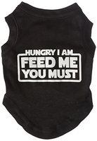 Ahi Hungry I am Screen Print Shirt Black Sm (10)