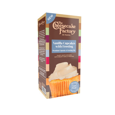 The Cheesecake Factory At Home Vanilla Cupcakes with Frosting Mix