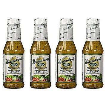 Hendricksons Dressing Original Sweet Vinegar and Olive Oil 16 fl oz (4-pack)