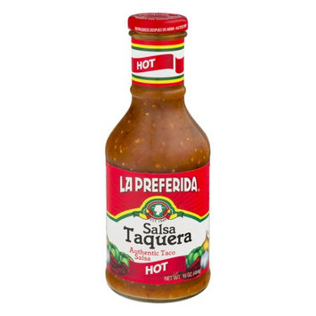 Kehe Distributors LA PREFERIDA SALSA TAQUERA HOT-16.4 OZ -Pack of 12