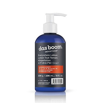 Das Boom Everywhere Lotion 8 Oz - Bourbon County (Bourbon & Leather)