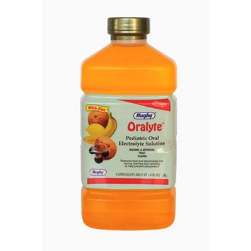 RUGBY ORALYTE SOLN FRUIT FLAVOR CHLORIDE ION-35 MEQ/L Orange 1L UPC