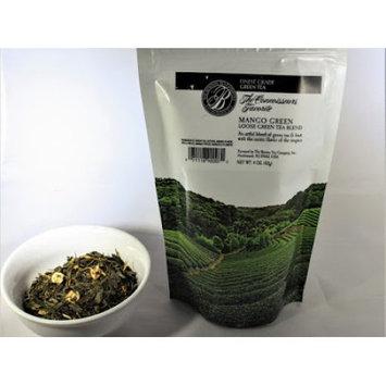 The Boston tea company mango green loose green tea blend 4oz