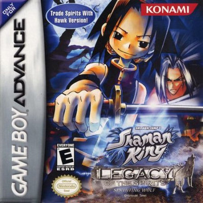 Konami Digital Entertainment Shaman King: Legacy of Spirits - Sprinting Wolf Game Boy Advance [GBA]