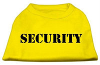 Ahi Security Screen Print Shirts Yellow Sm (10)