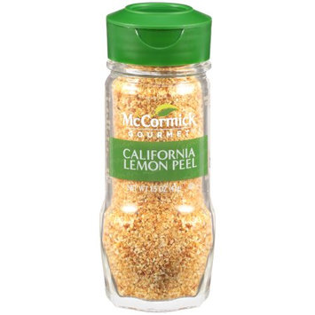 McCormick Gourmet Lemon Peel, California, 1.5 OZ