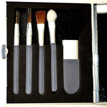 Trim Compact Mirror with 5-piece Brush Set by Trim