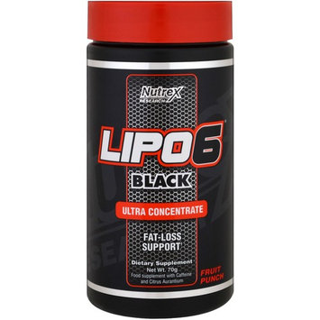 Nutrex Research Labs, Lipo 6 Black, Ultra Concentrate, Fruit Punch, 70 g