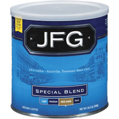 JFG Special Blend Ground Coffee, 34.5 oz