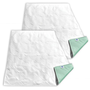 Johnson Smith Co (Set/2) Bed Underpads - Pulls Excess Moisture Away From Skin w/ 12oz Capacity