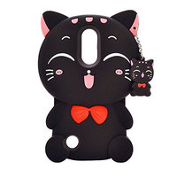 Iphone 7 Plus Case ,iPhone 8 Plus ,Sunvy 3D Cartoon Cute Cat Shell Shockproof Cover For 5.5 iphone 7 plus / 8 Plus With a Screen Protectoer