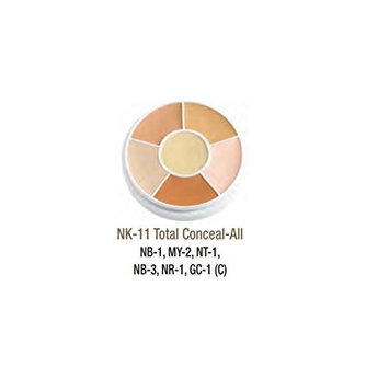 Ben Nye Cover All Wheel, Total Conceal-All