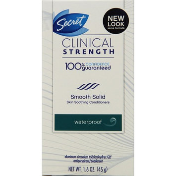 Secret Clinical Strength Waterproof Deodorant, All Day Fresh 1.6 oz (Pack of 3)