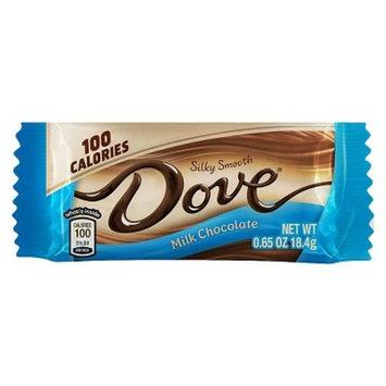 DOVE 100 Calories Milk Chocolate Candy Bar, 0.65 oz