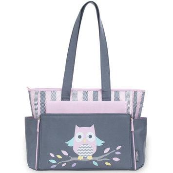 Baby Boom Tote Diaper Bag, Pink Owl