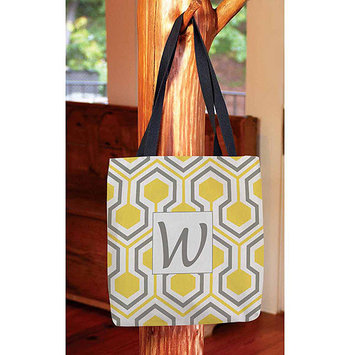 Thumbprintz - Honeycomb Monogram Tote Bag