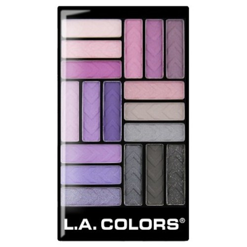 L.A. Colors® Eyeshadow Pallet - Strange Love - 0.7 oz