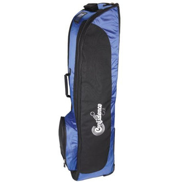 Confidence Golf Bag Travel Cover ROYAL BLUE with wheels