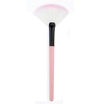 Binmer(TM) Makeup Fan Blush Face Powder Foundation Cosmetic Brush