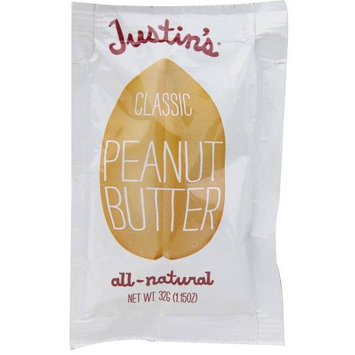 Justin's Classic Peanut Butter, 1.15 oz, (Pack of 5)