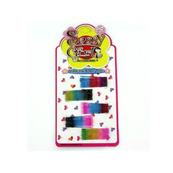 Bulk Buys BE153-48 8 x 8 x 8 Sparkling Bobby Pin Set - Pack of 48