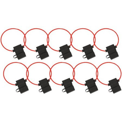 Metra Electronics The InstallBay ATC Fuse Holder With Cover 16 Gauge - Package of 10