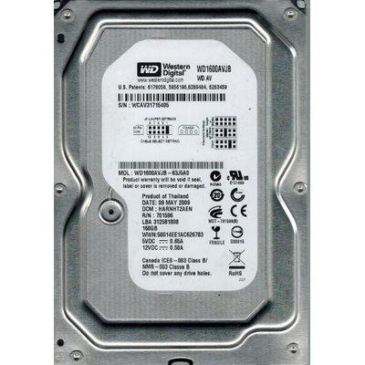 Western Digital AV WD1600AVJB 160GB Internal Hard Drive