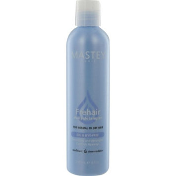 Mastey Frehair Daily Detangler Conditioner For Normal To Dry Hair Oil Free & Dye-Free 8 Oz