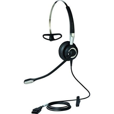 Gn Netcom Jabra Jabra BIZ 2400 II Headset - Mono - USB - Wired - Gold Plated - Over-the-head - Monaural - Supra-aural