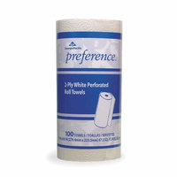 Georgia Pacific Jumbo Paper Towel Rolls, 2 Ply, White