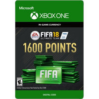 Incomm Xbox One FIFA 18 Ultimate Team 1600 Points (email delivery)