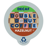 Double Donut Coffee Decaf Hazelnut Flavored Coffee Single Serve Cups For Keurig K Cup Brewer