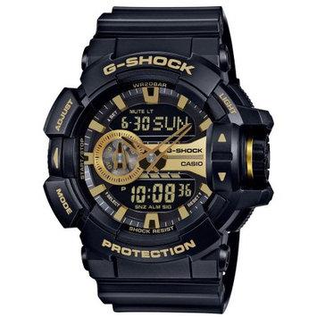 Casio G-Shock GA400GB-1A9 Gold Accented Black / Black Resin Analog / Digital Quartz Men's Watch