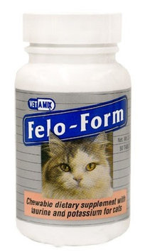 Vet-a-mix Felo-Form Cat Vitamins, 50 Chewable Tablets