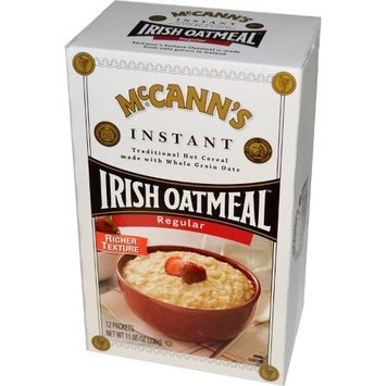 McCann's Irish Oatmeal, Instant Oatmeal, Regular, 12 Packets, 28 g Each(pack of 2)