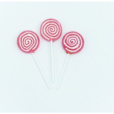 Candy Shop Pink Swirl Lollipops - 42 Pieces (1 lb Bag)
