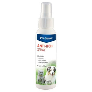 PetArmor Anti-Itch Spray for Dogs & Cats