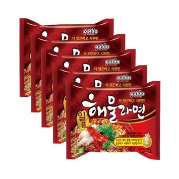 PALDO Seafood Noodle Soup 5packs