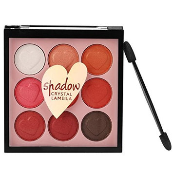 9 Color Pearl Glitter Eye Shadow Powder Palette Matt Eyeshadow Cosmetic Makeup