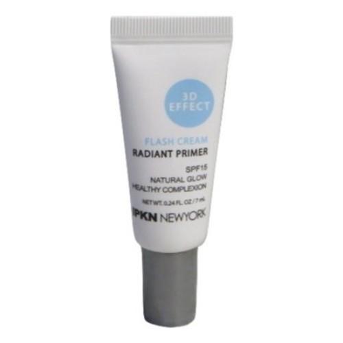 IPKN New York Flash Cream Radiant Primer Natural Glow, Travel Size, .24 Oz
