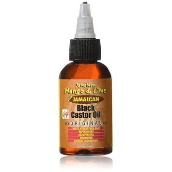 Jamaican Mango and Lime Black Castor Oil, Original, 2 Ounce [Original]